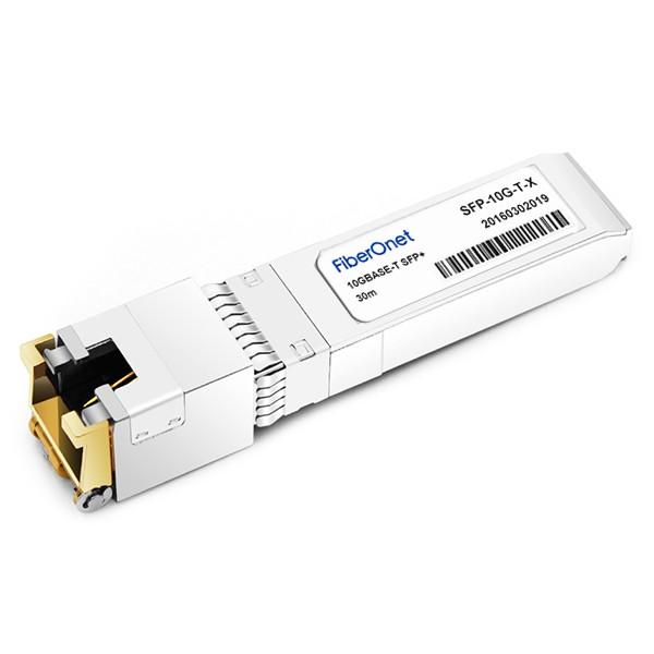 Cisco SFP-10G-T-X 10GBASE-T SFP+ Module for CAT6A cables (up to 30 meters) #1 image